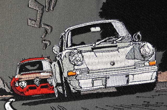 「PORSCHE 911 VS alfa romeo GIULIA GTA 1300 junior」 by GT roman STRADALE