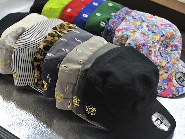 CAP刺繍